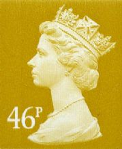 46p Cheap GB Postage Stamp